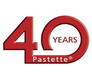 Pastette 40th Anniversary Badge